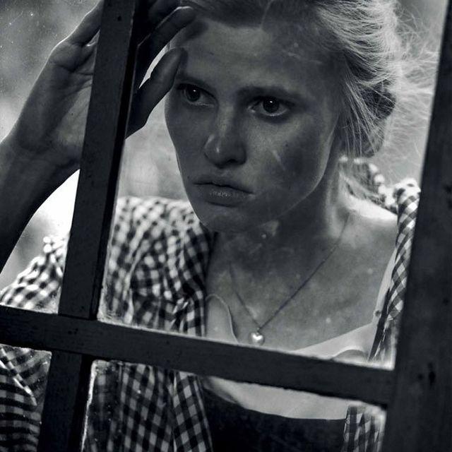 image: Lara Stone by Peter Lindbergh by heelspeplum