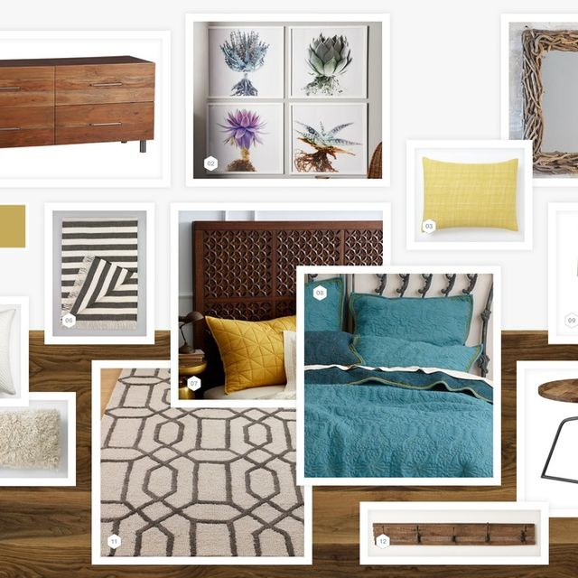 image: PATTERNS & TEXTURES BEDROOM from LookNook.co by annemarie