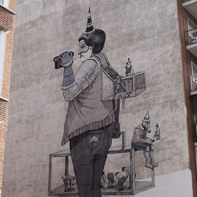 image: Daniel Muñoz (aka San) en Madrid by iam