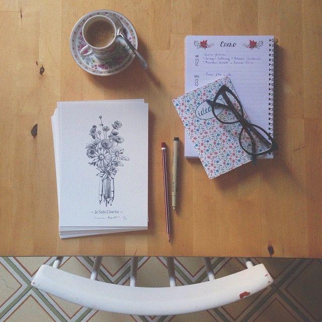 image: ...firmando y numerando los prints de #jesuischarlie... by laura_agusti