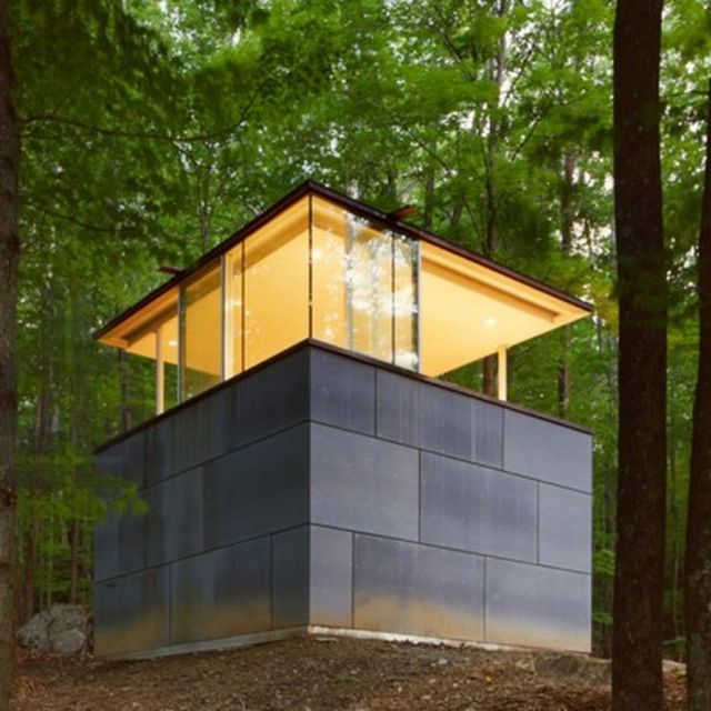 image: Scholars Library in the Forest by goyette