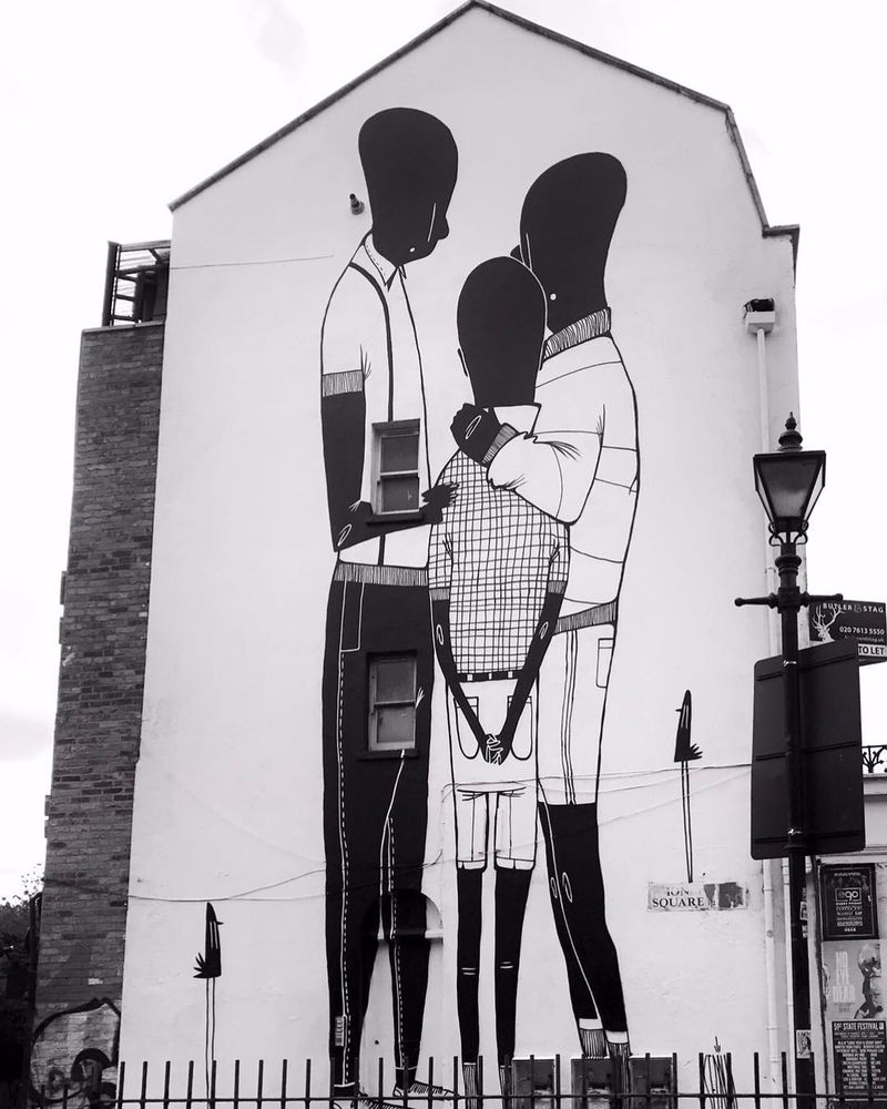 image: Alex Senna mural in London by streetart_official