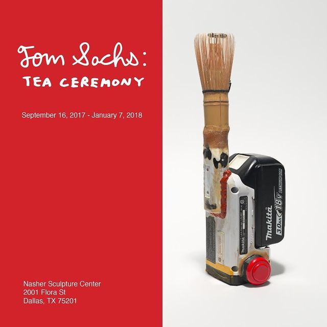 image: Tom Sachs: Tea Ceremony opens @nashersculpturecenter this Saturday!September 16, 2017 - January 7,... by tomsachs