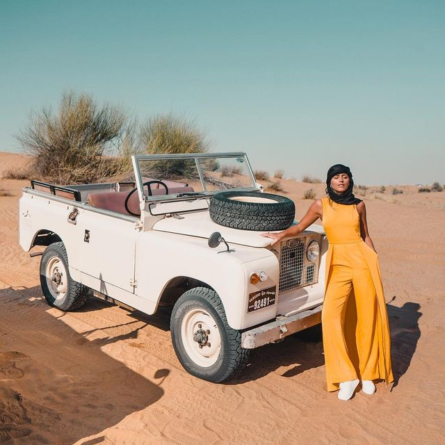 image: The perfect desert car ? New VLOG online from Dubai and this ?? - link in bio! ? by jannid