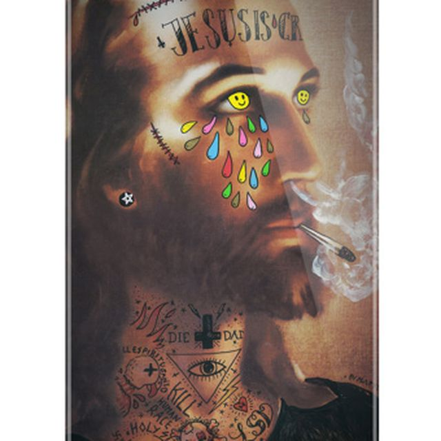image: · JESUS IS CRYING - JEHOVAMETRIC · PHONE CASE BY MAPYDH by mapydh