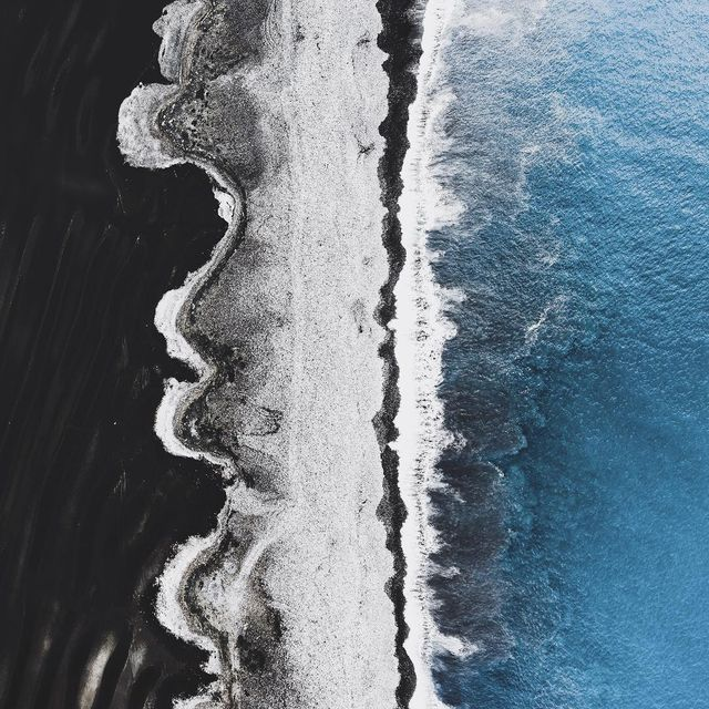 image: Shoreline textures. by donalboyd