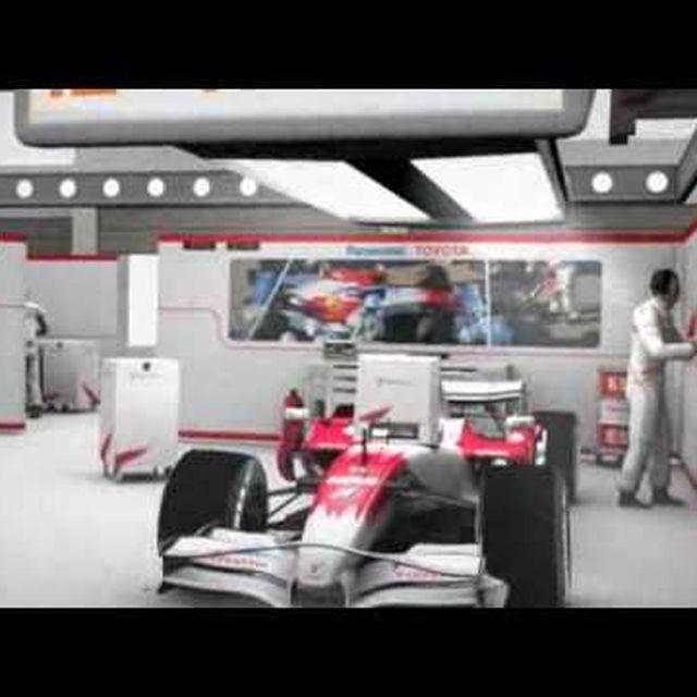video: Formula One Paddock Club by eLafo