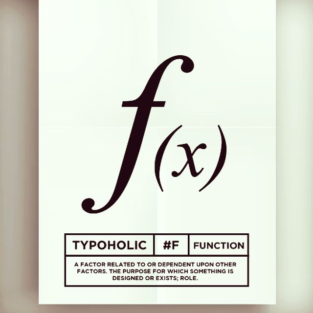 image: #typoholic - F by guillermovazquez