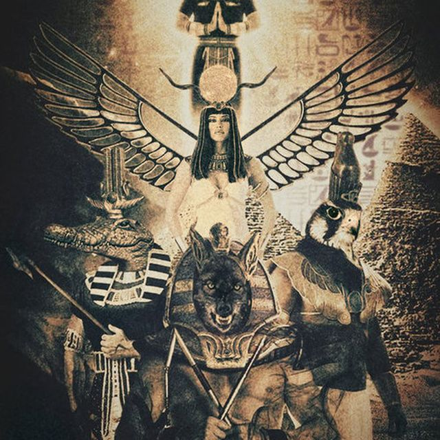 image: Egyptian Gods by pit