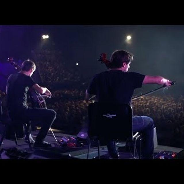 video: 2CELLOS - Viva La Vida [LIVE at Arena Pula] by scatterbrainer