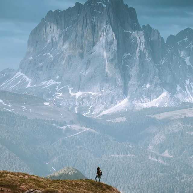 image: Right before some heavy rain. Majestic view in Dolomites 🇮🇹 | @canonportugal by Ventura_Sales