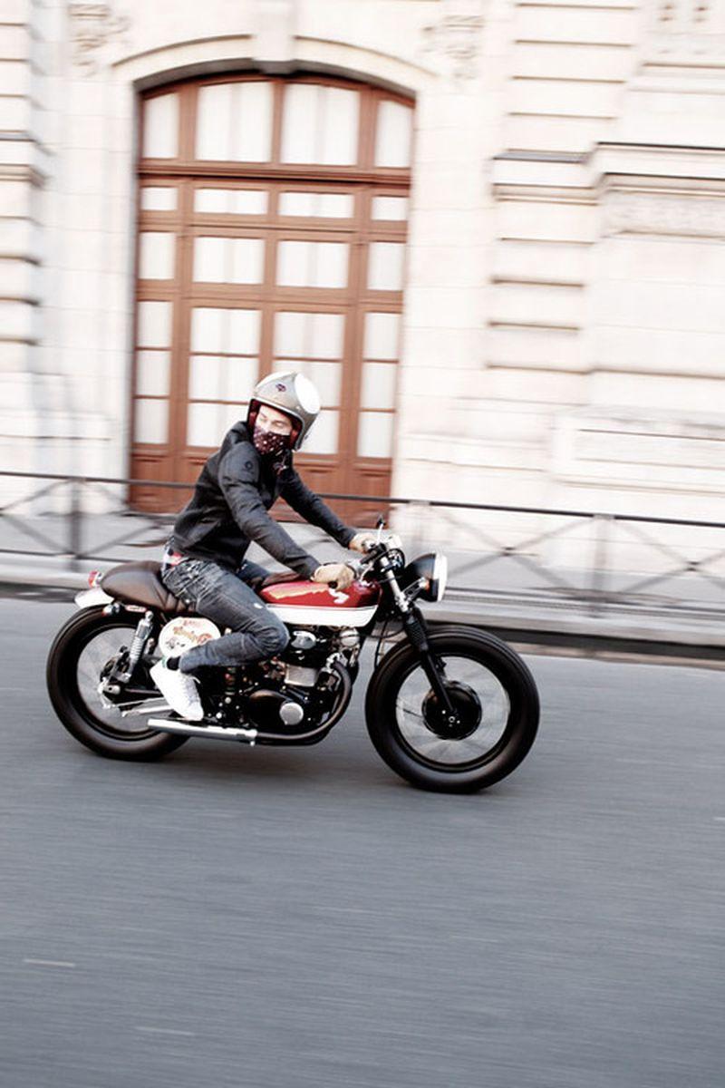 image: Cafe Racer biposto by cesaryatt