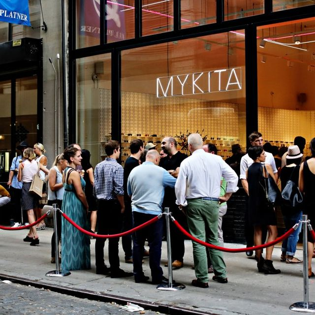 post: MYKITA Shop New York opening by martinvazquez