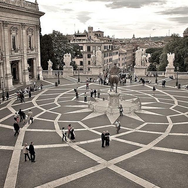 image: Piazza Campidoglio - rome by karl