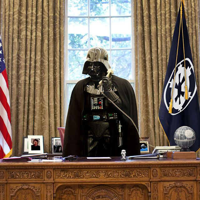 image: Star Wars Characters Take Over As World Leaders by jenniferasos