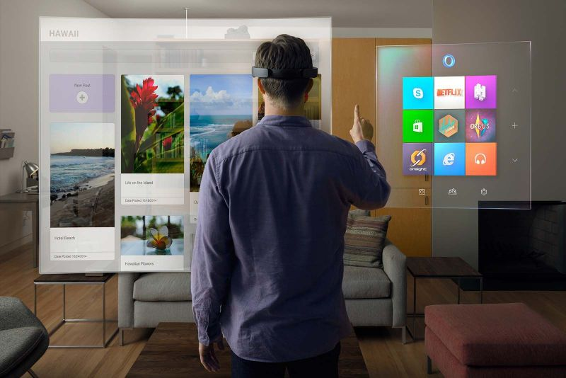 image: Up close with Microsoft's HoloLens by jason