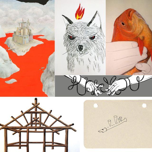 "image: ""Collage"" exposición colectiva en Twin Gallery by twin"
