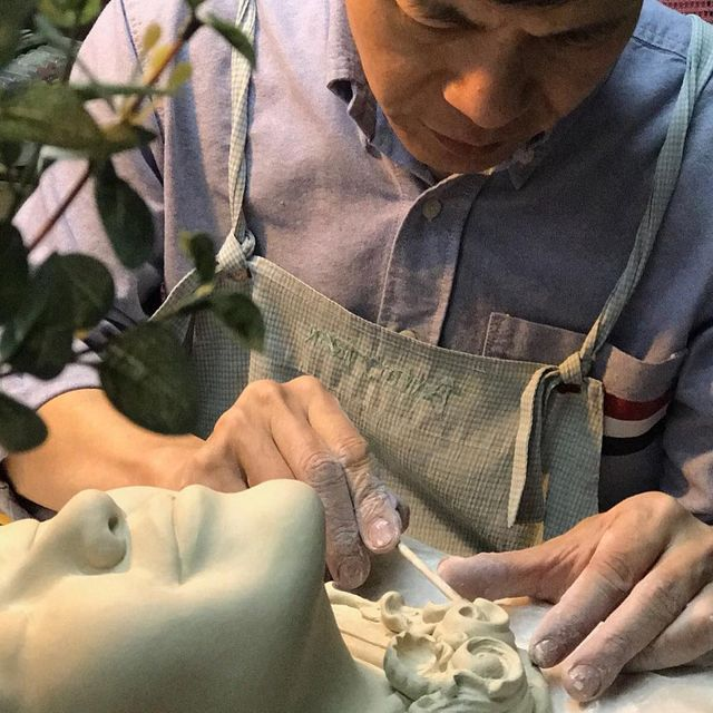 image: Lucid Dream Series II -...Working with joy, everything can be.........Johnson...#JohnsonTsang #ceramics #sculpture #arts by johnsontsang