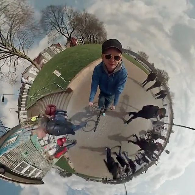 video: 360° Video using 6 GoPro Cameras by icanteachyouhowtodoit