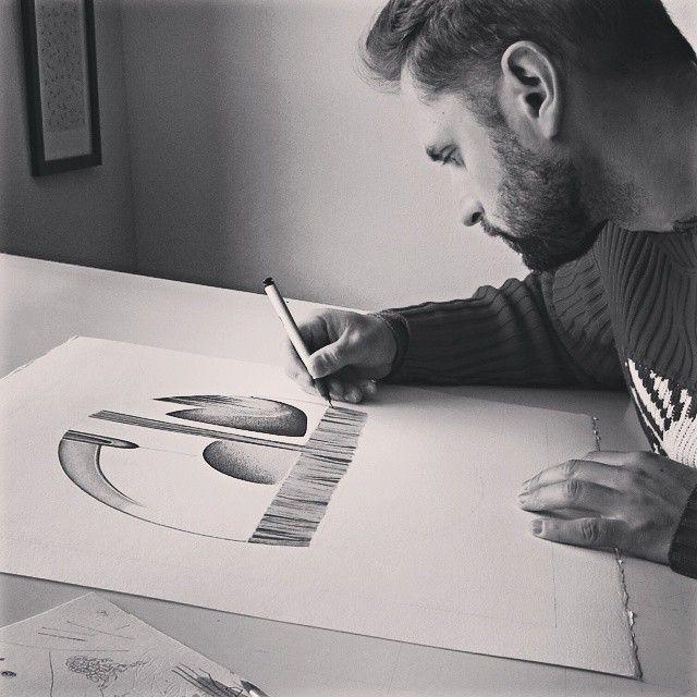 image: Continuando hasta el infinito. #arte #dibujo #pintur... by daniel_rod