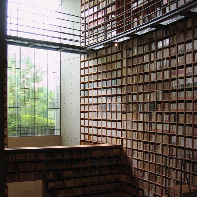 image: Library by Tadao Ando by borjadelgado
