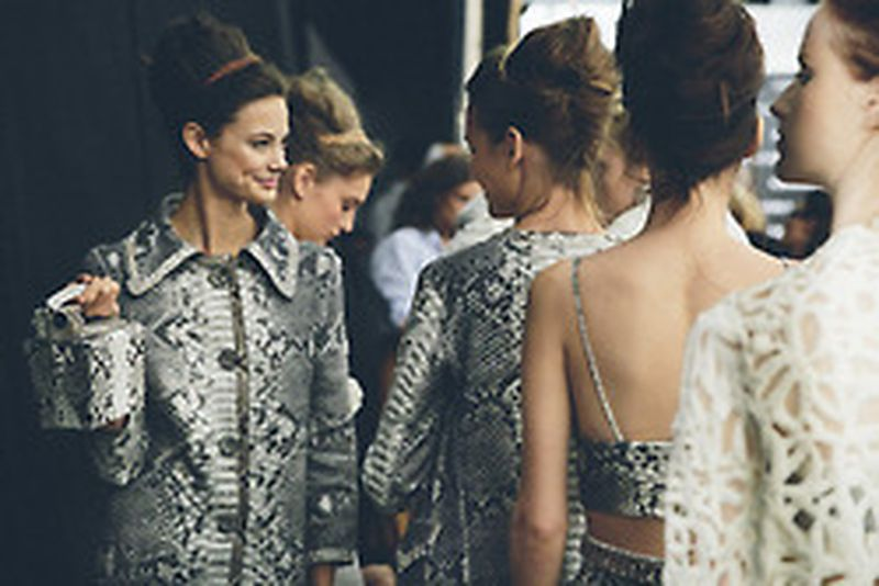 image: BACKSTAGE MFW S/S 2015ERMANNO SCERVINOPhotos by Toma... by freshwhite