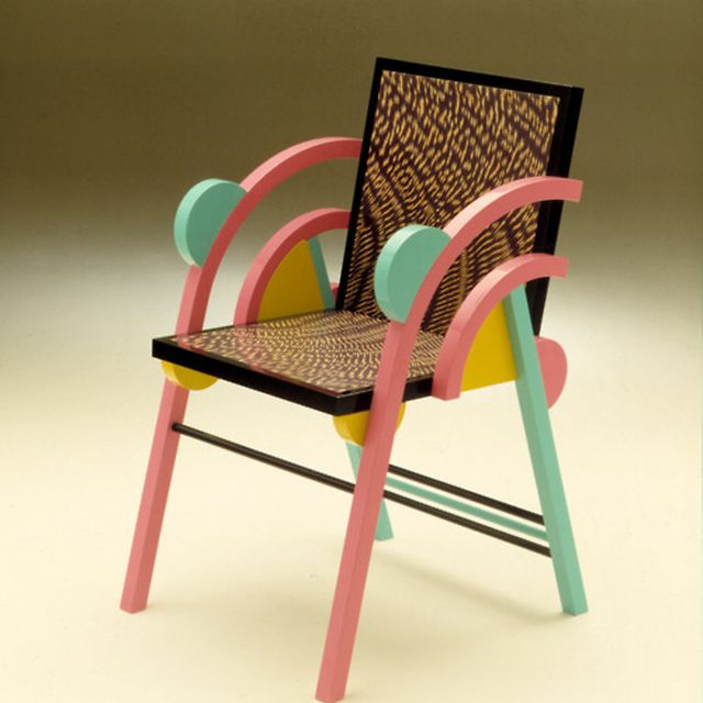 image: Memphis chair by oculto