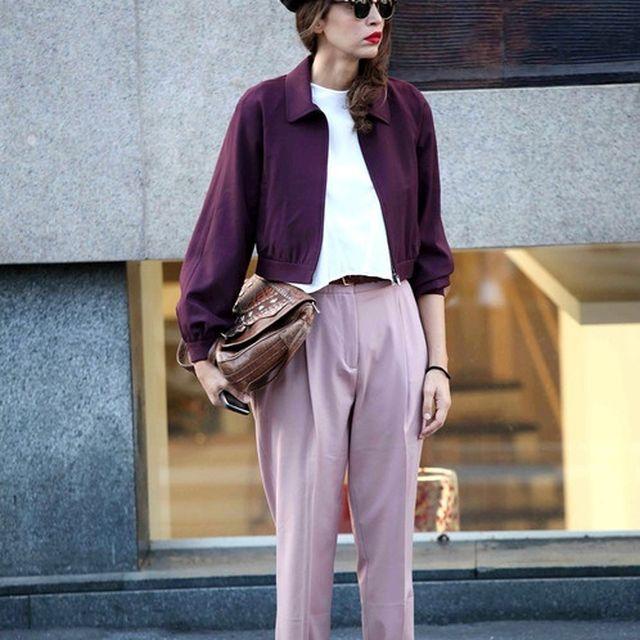 image: Purple street style by pennycentury