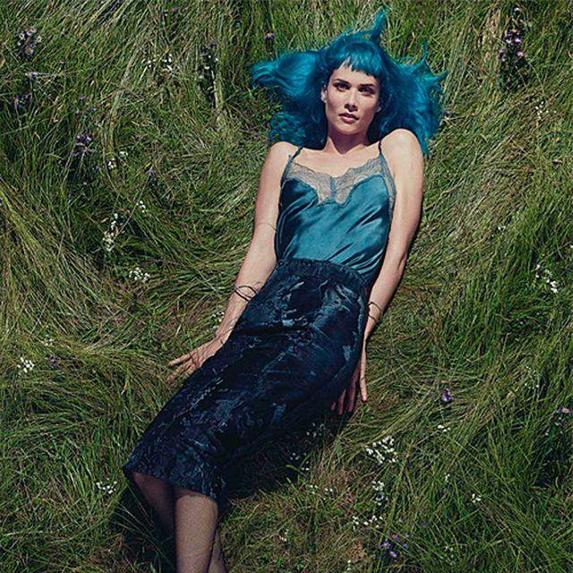 image: Oh Land by Robbie Fimmano for Vogue Australia September by fashionnet