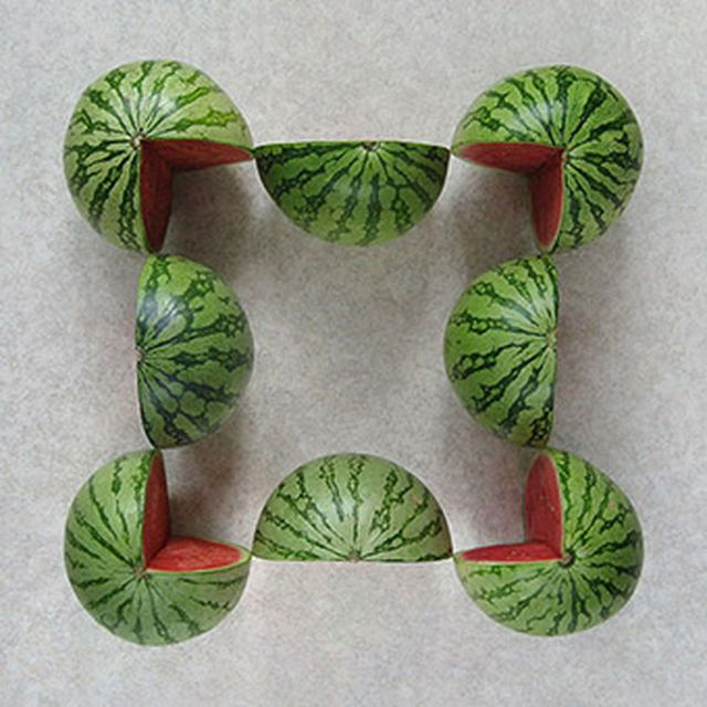 image: Geometric food by paulojfutre
