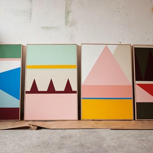 post: Esther Stewart, ¿el color sobre la forma? by rocio_olmo