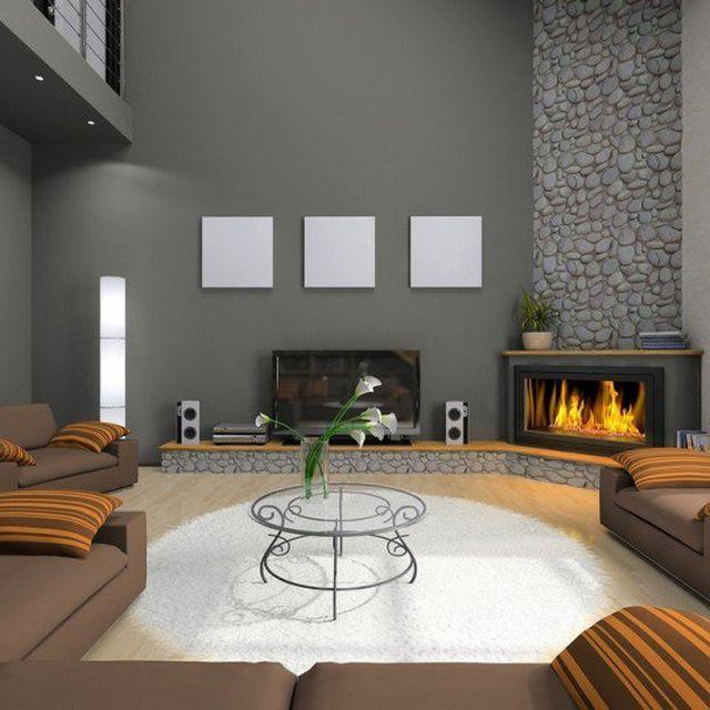image: Modern Fireplace by abidingchips