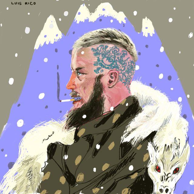 image: Ragnar by luisrico