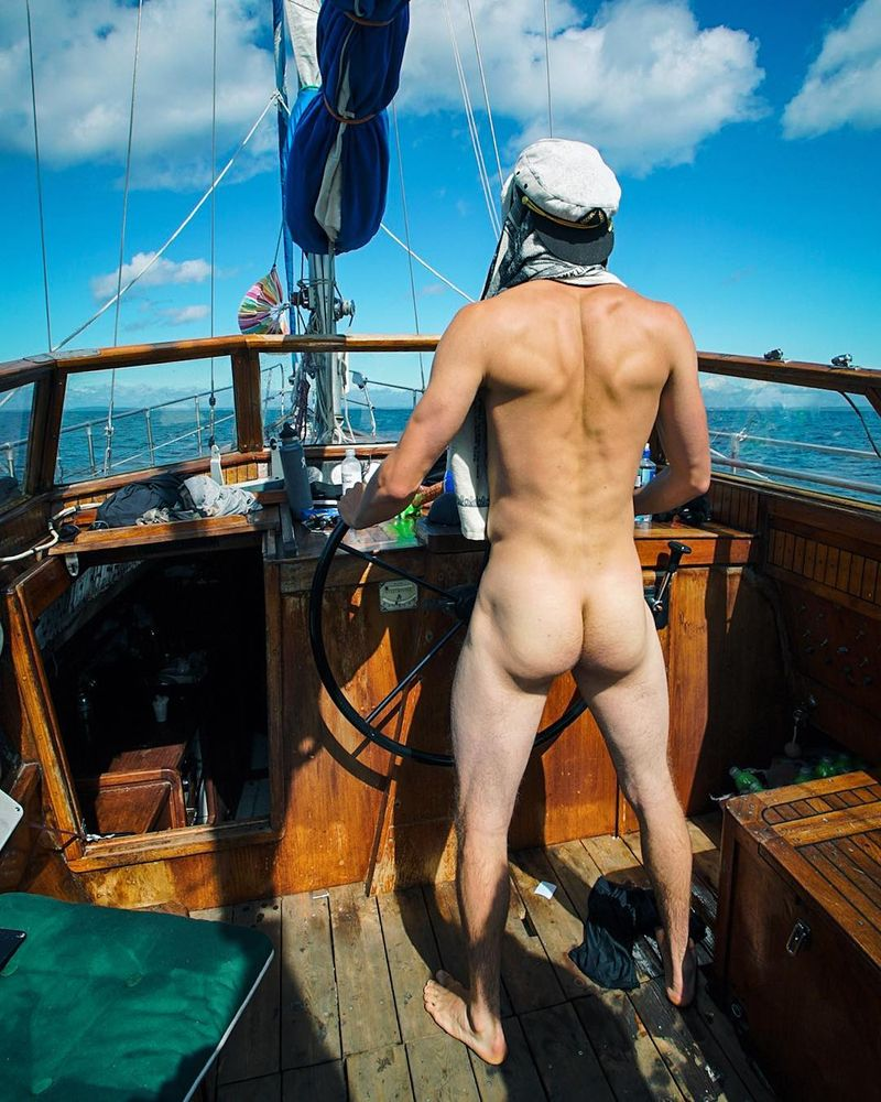 image: Flight got cancelled ☠️ Solo sail mission to Australia for winter. See you in a month ? #freethebuttcrack #gotrobbed by stalesandbech