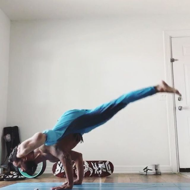 image: Raw, unedited home practice. My practice is meditation in movement. It is complete awareness of my breath and the space my body is moving in. It's where my mind becomes still and I can be fully present. It is the place and moment I call home. ...... by jayomyoga