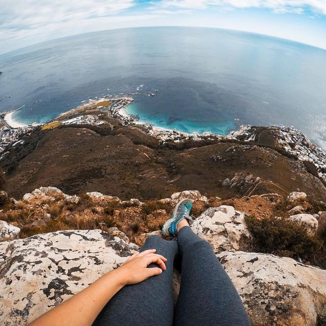 image: Cape Town looks particularly good when viewed from the top of its many mountains! ...@capeunionmart #gearupgetout by fainepearl