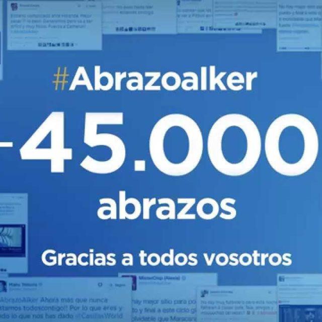 video: #AbrazoAIker El Abrazo de toda España by driftingnomad