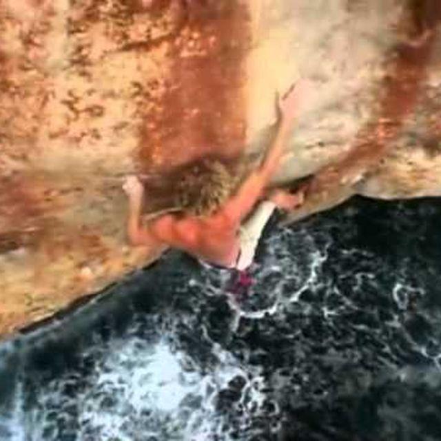 video: Escalade Climbing Psicobloc, Majorque by HermenegildoLupo