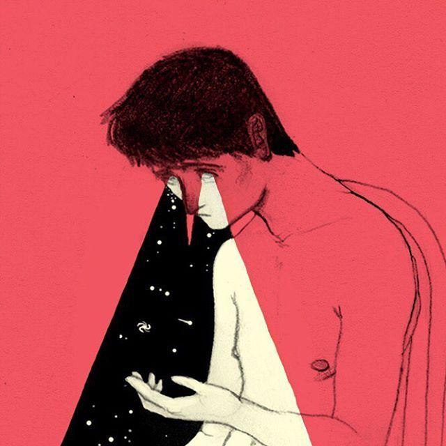 image: 'Derramar agujeros negros por los ojos' by david_delasheras