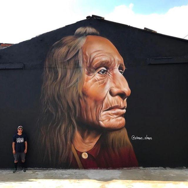 image: @sipros_sipros wall in São Paulo, Brasil ??(2018)•#siprossipros #urbanart #streetart #painting #streetartofficial #contemporaryart #saopaulo #brasil by streetart_official