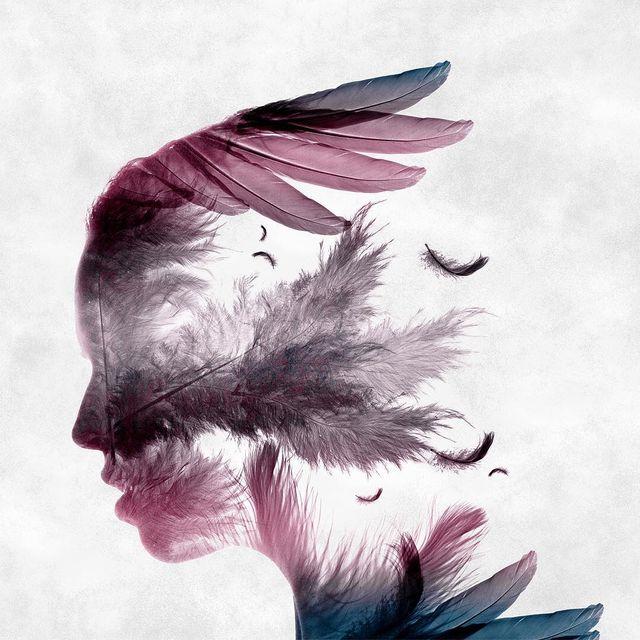 image: ✖️Plume Plume Women✖️?Nouvelle double exposition de portrait ! Bonne soirée ??#ciscograph by ciscographie