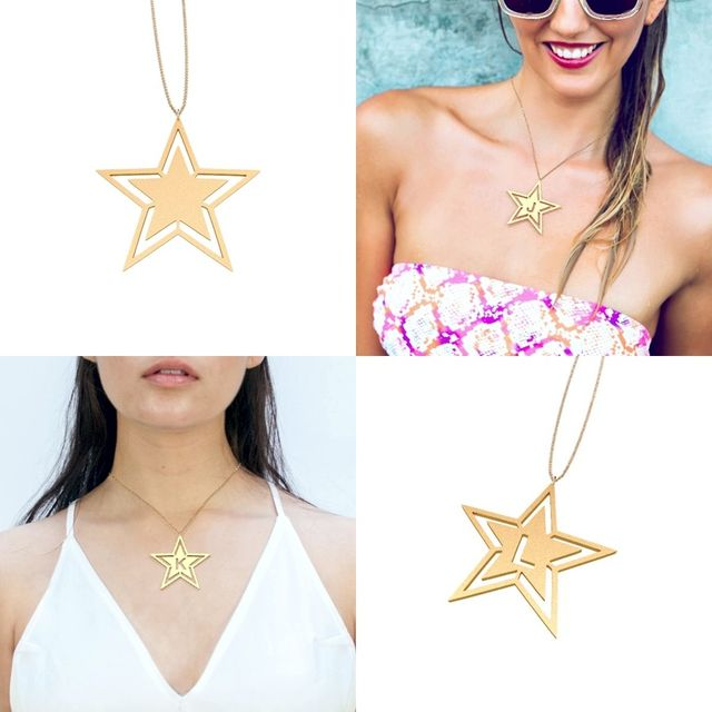 image: You are the Star Necklace by gabrielttoro