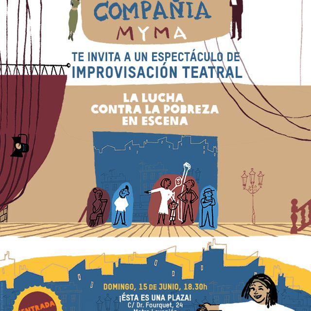 image: ESPECTÁCULO DE IMPROVISACIÓN TEATRAL SOBRE COOPERACIÓN by IntermonOxfam