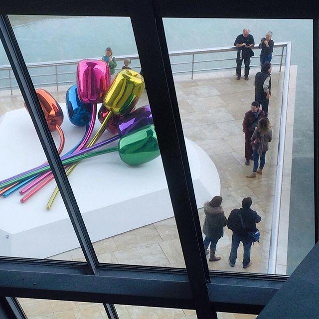 image: Vistas desde el #museo #Guggenheim en #Bilbao by nani_arenas