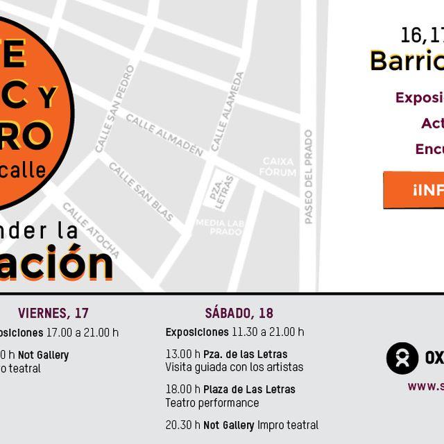 post: Arte, Cómic y Teatro defienden la cooperación by IntermonOxfam