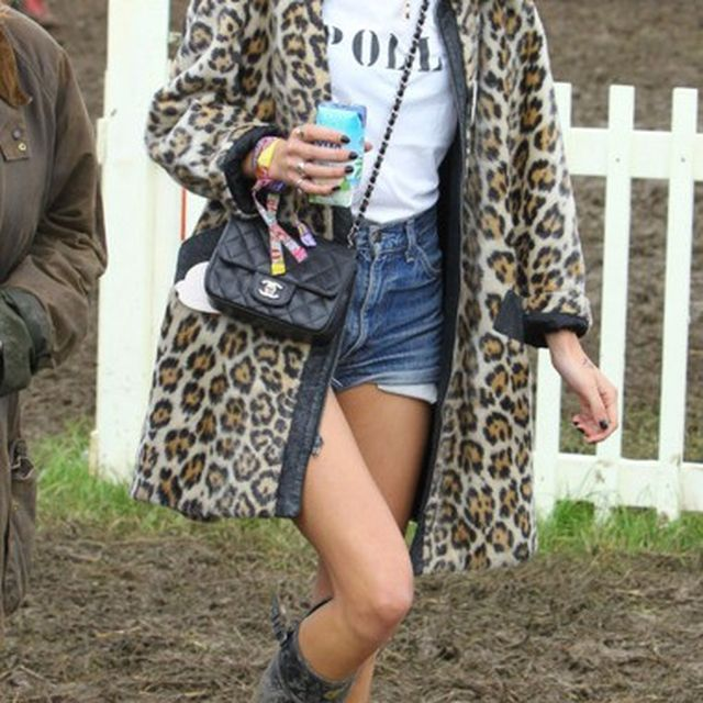 image: Alexa Chung at Glastonbury by martanicolas