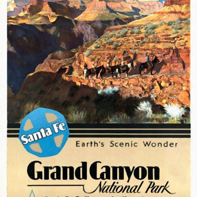 image: Santa Fe Train to Grand Canyon by gabrielttoro