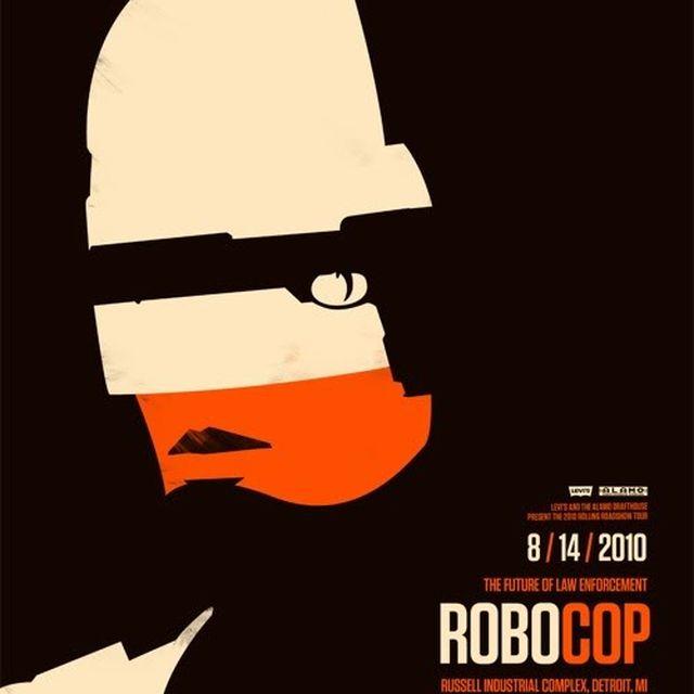 image: Robocop by Saracho
