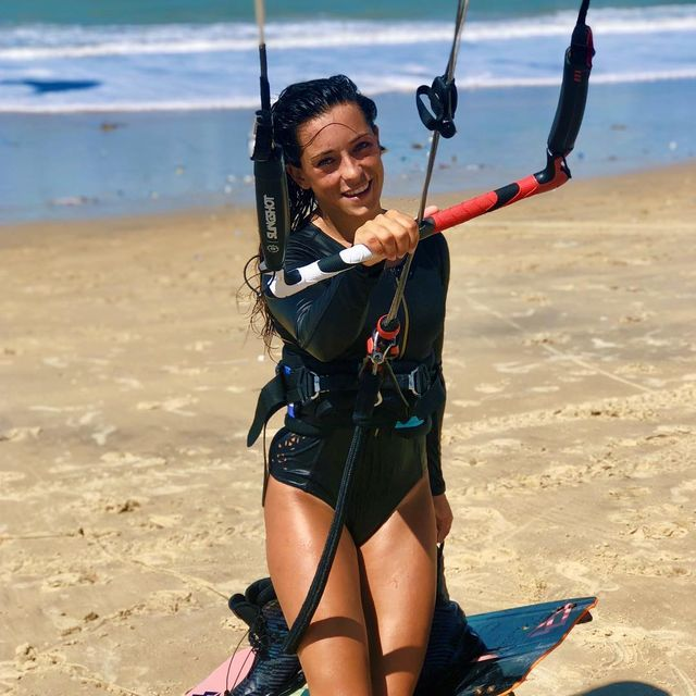 image: That feeling after a kite session ☺️😍#brunotti #nomattertheconditions #windvoyager #b3watersports #cumbuco #durobeach by ritaarnaus