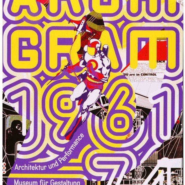 image: 'Archigram 1961-74' Ralph Schraivogel Poster by martinvazquez